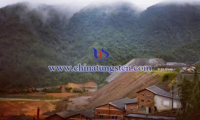 铁山垅钨矿图片