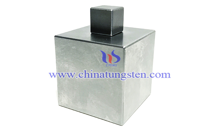 high density tungsten alloy cube picture