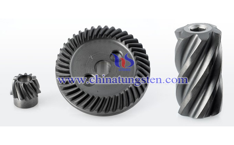 tungsten disulfide coating used in gear image