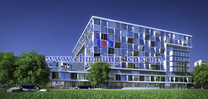 tungsten oxide nanopowder applied for new energy efficient building glass picture