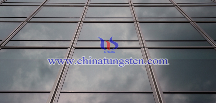 yellow tungsten oxide powder applied for heat-insulating energy-saving glass picture