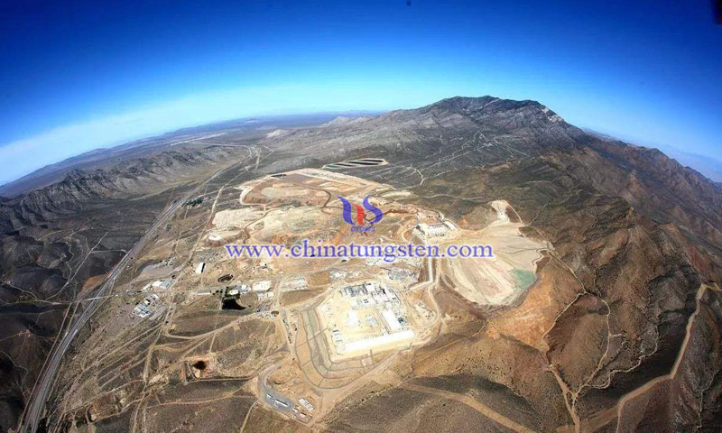Rare earth aerial image
