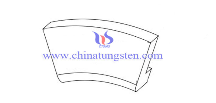 customized tungsten copper part image
