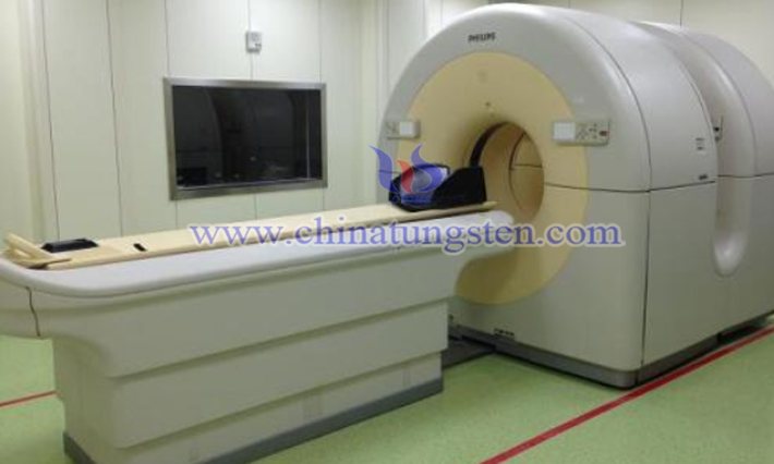 tungsten alloy in nuclear medicine