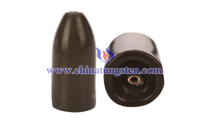 tungsten colored insert bullet weight picture