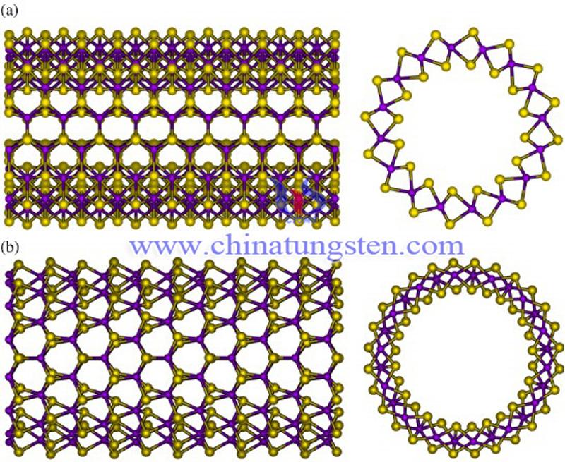 tungsten disulfide nanotube structure image-2