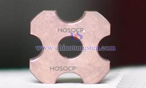 tungsten-copper alloy electrical contact image
