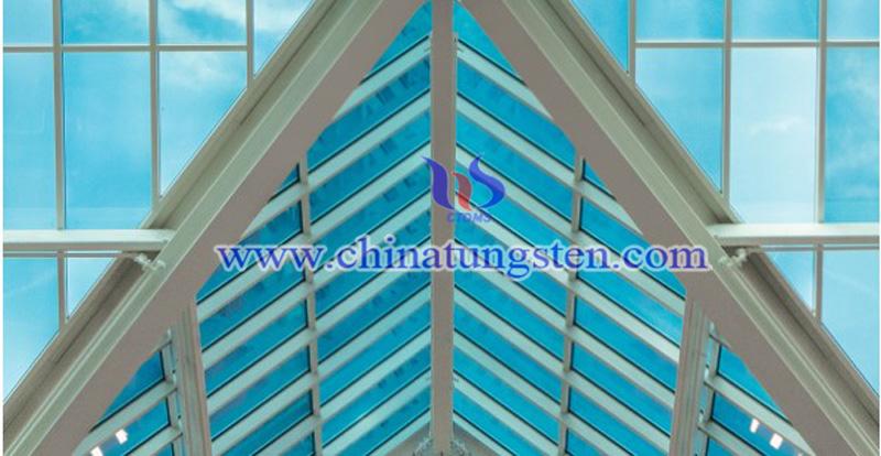 electrochromic tungsten oxide smart glass image