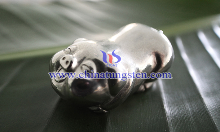 polished tungsten pig picture