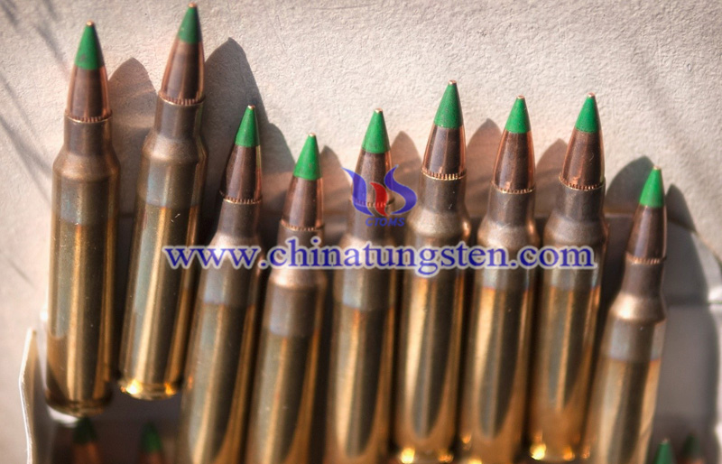 the green tip M855 tungsten core armor-piercing discarding sabot image