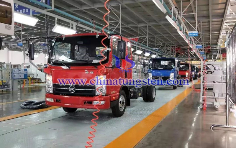 the new energy automobiles produced in Ganzhou image