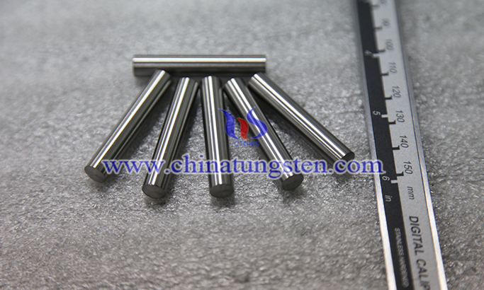 tungsten alloy rod for dart barrel picture