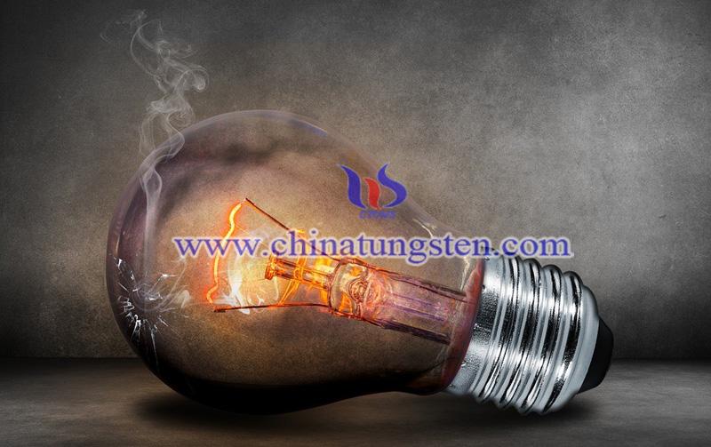 tungsten wire used in a bulb to add retro atmosphere image