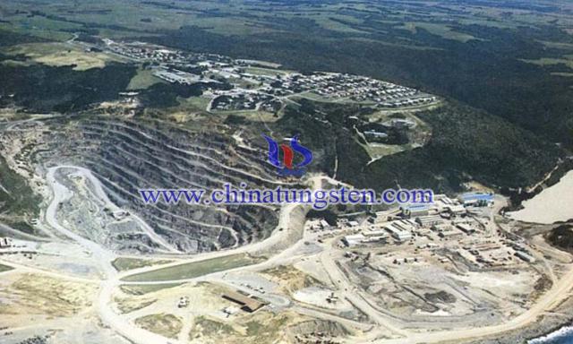 澳大利亞金島白鎢礦公司海豚鎢礦區