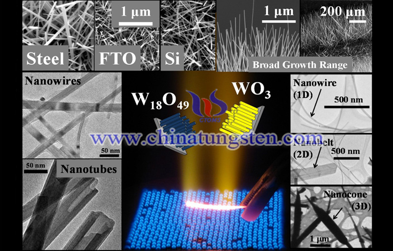 flame-synthesis-of-tungsten-oxide-nanowires-structures-on-diverse-substrates-image flame synthesis of tungsten oxide nanowires structures on diverse substrates image
