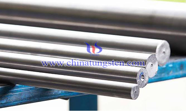 heavy tungsten alloy round bar picture