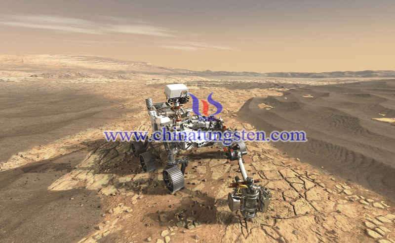 the rover rotates clockwise and counterclockwise at about 1 revolution per minute image
