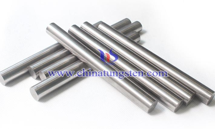 tungsten alloy round bar picture