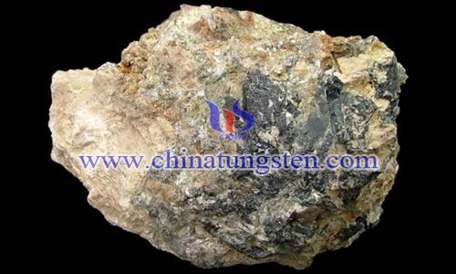 鎢礦石圖片
