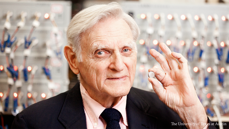 John Goodenough becomes oldest-ever winner of Nobel Prize for the development of lithium batteries image