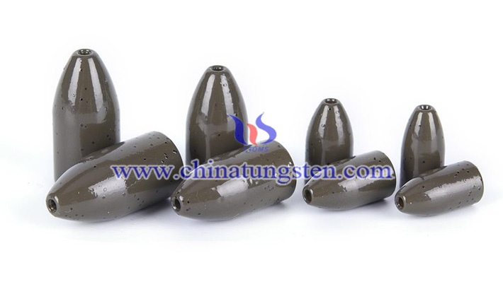 tungsten worm weight picture