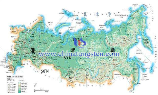 俄羅斯地圖