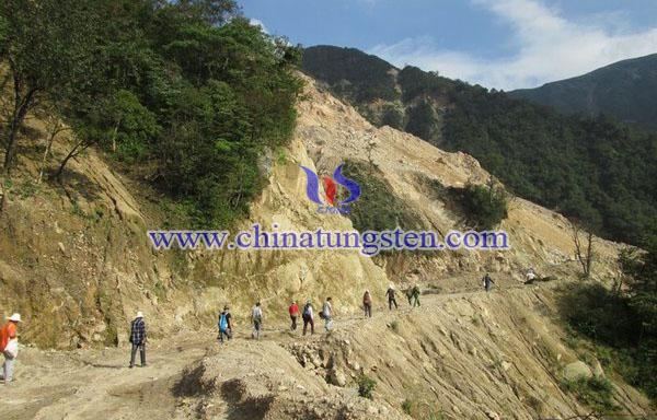 大湖塘鎢礦圖片