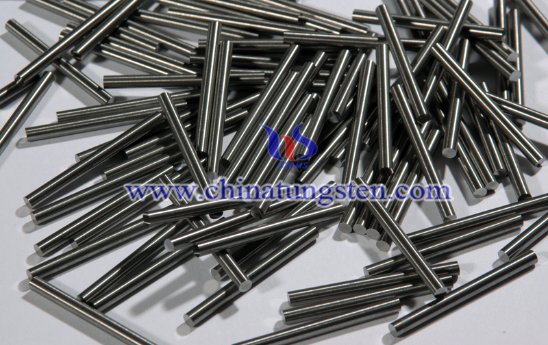 cemented tungsten carbide rod image