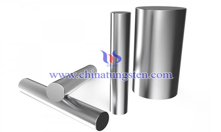 polished tungsten alloy rod picture