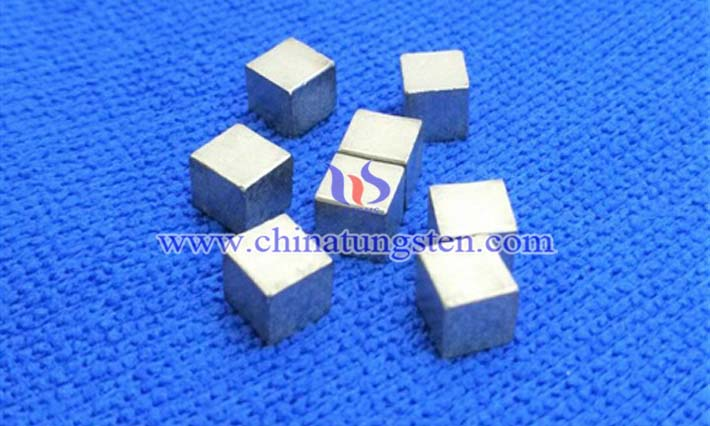 tungsten alloy cube for military defense picture