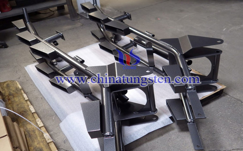 tungsten disulfide used in surface coating image