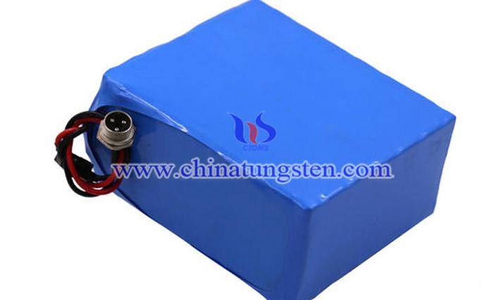 數碼產品鋰電池負極用紫色氧化鎢圖片