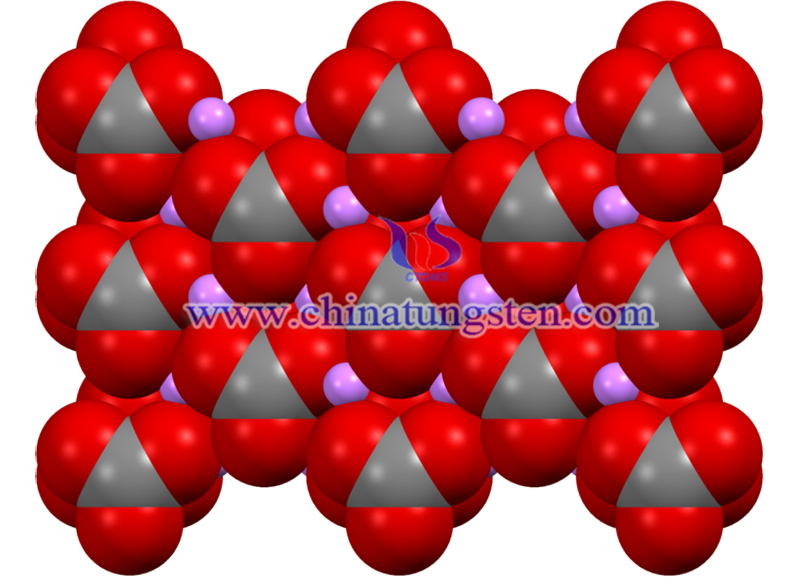 crystal structure of lithium carbonate image