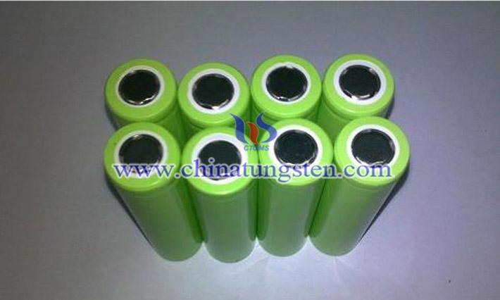 數碼產品鋰電池混納米WO2.72圖片