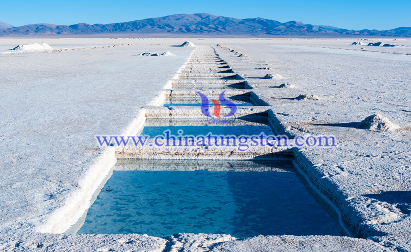lithium mine in chile image