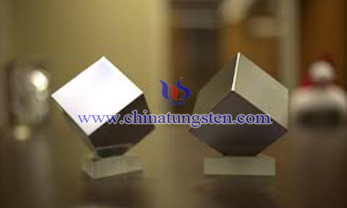 military tungsten alloy cube picture