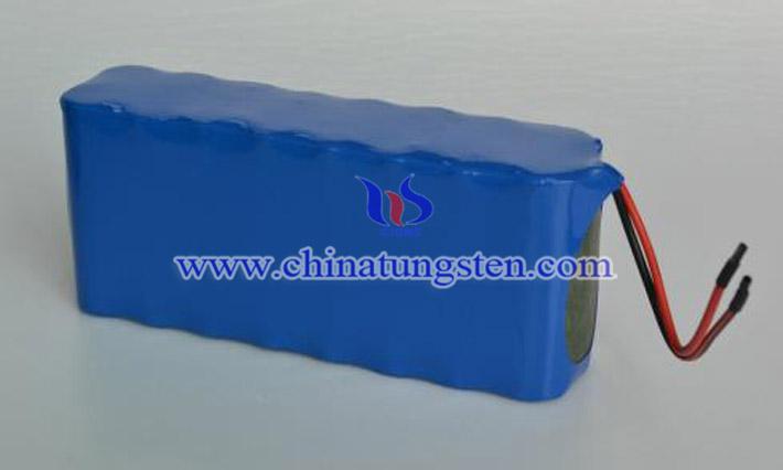 數碼設備鋰電池用紫色氧化鎢圖片