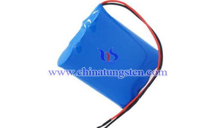 數碼產品鋰電池混納米紫鎢圖片