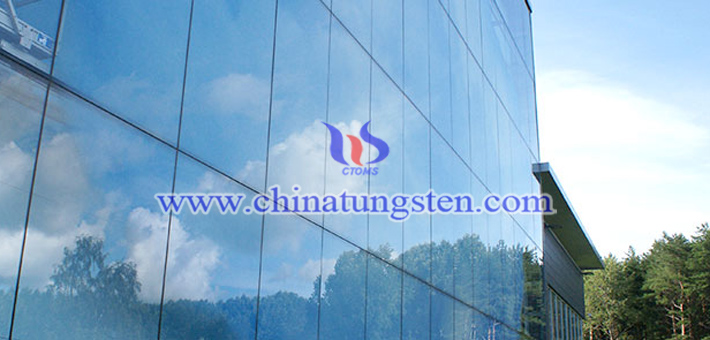 Cs0.32WO3 applied for glass curtain wall heat insulation coating picture