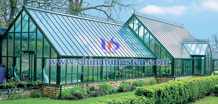 Cs0.32WO3 applied for greenhouse heat insulation coating picture