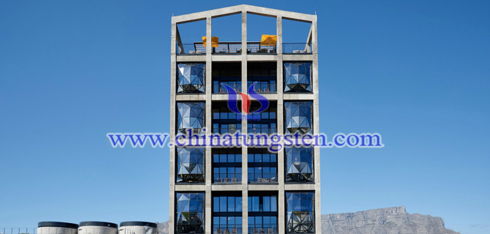 Cs0.32WO3 applied for heat insulation window glass picture