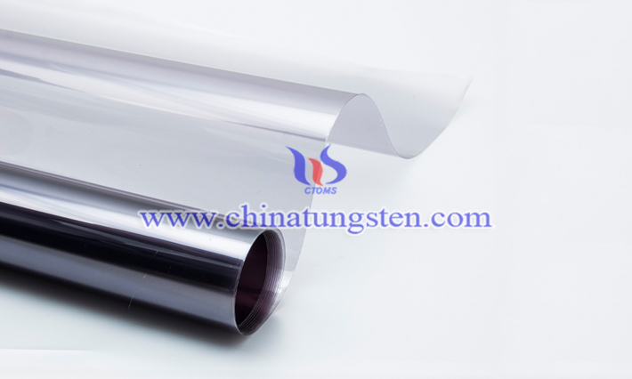 Cs0.32WO3 applied for window thermal-insulation film picture