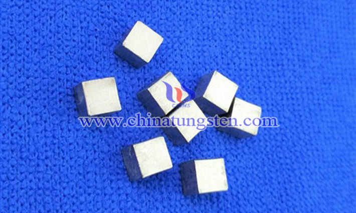 heavy tungsten alloy cube picture