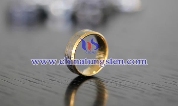 鎢金戒指圖片