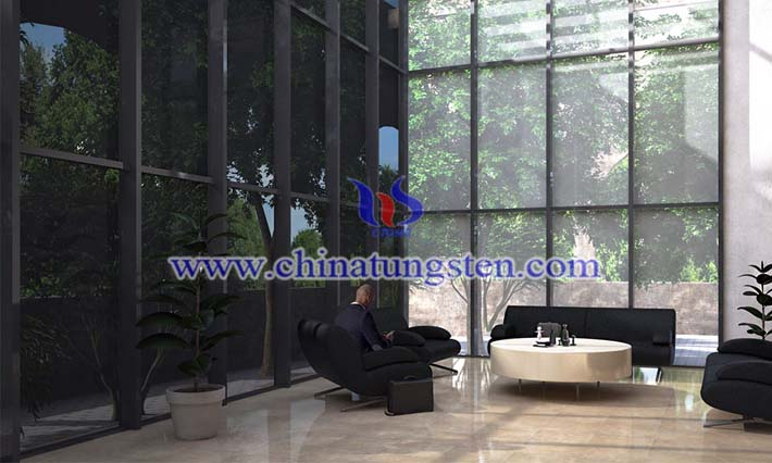 electrochromic film: amorphous tungsten oxide film picture