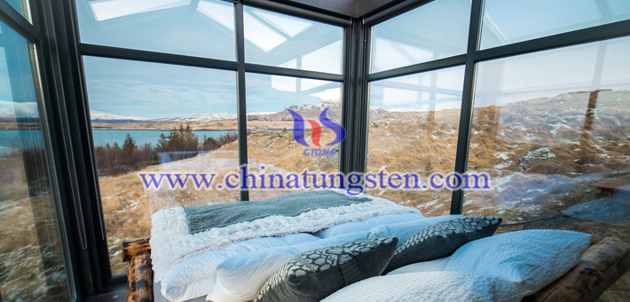 new energy-saving building material: WO3 electrochromic glass picture