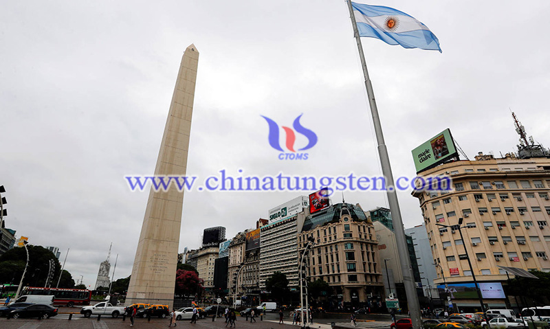 the Buenos Aires Obelisk in Buenos Aires of Argentina image