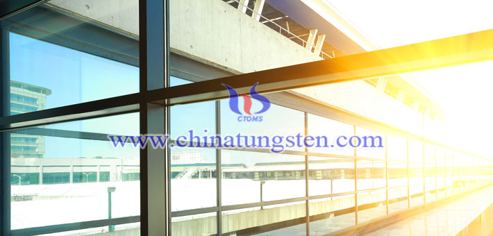 tungsten oxide applied for new smart glass picture