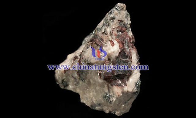 鎢精礦圖片