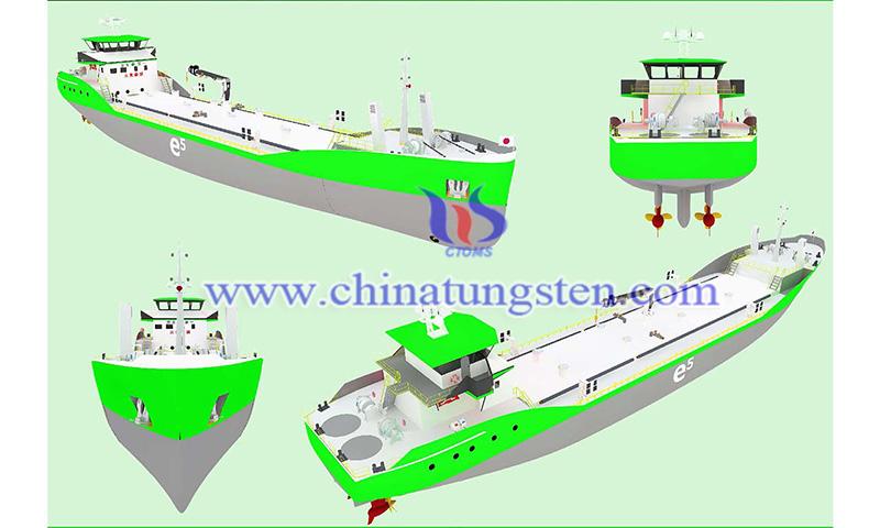 e5 zero emissions bunker tanker design image